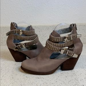 VINTAGE BY JEFFREY CAMPBELL Watson Studded Booties